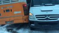 İki ayrı kaza meydana geldi.