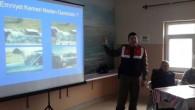 Jandarma Trafikten lise öğrencilerine trafik eğitimi